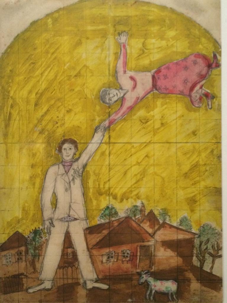 Chagall -il volo
