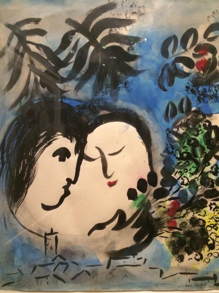 Marc Chagall - Coppia di amanti
